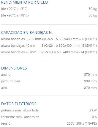 Especificaciones tecnicas mf 30.2